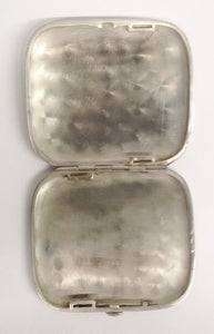 Antique German 800 Silver Cigarette Case