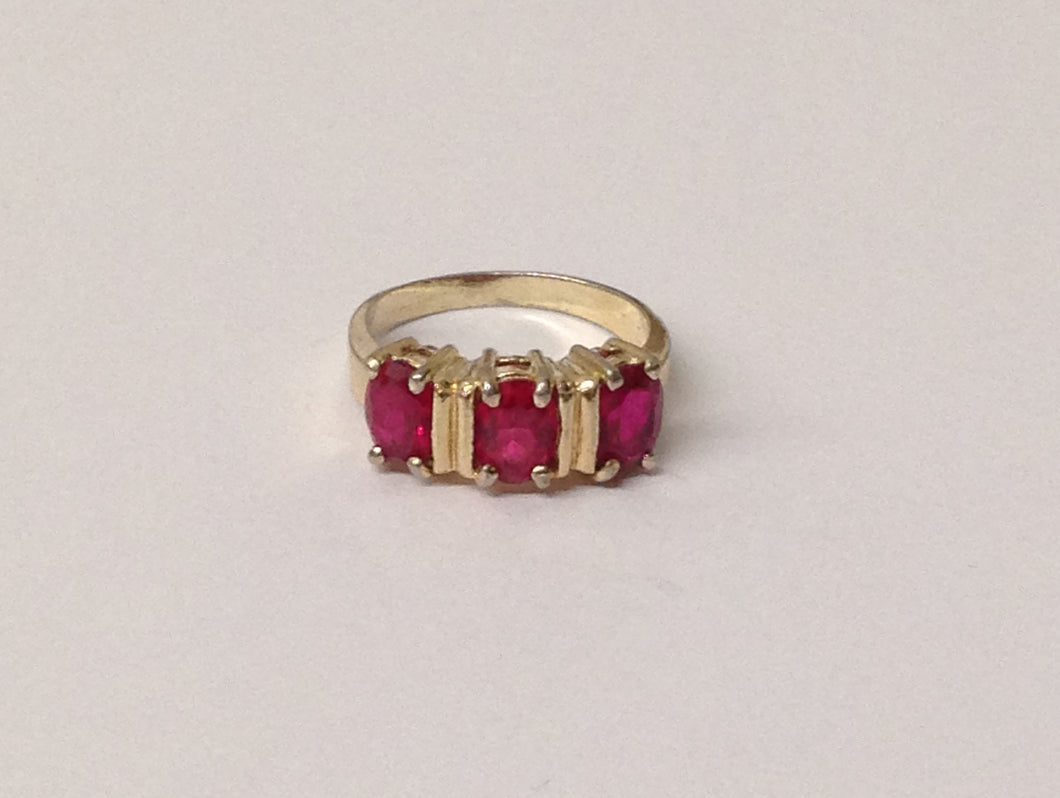 www.hersandhistreasures.com/products/3-Ruby-Gemstone-Sterling-Silver-Ring-With-Gold-Overlay
