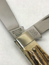 Load image into Gallery viewer, 2004 Bulldog Brand Stag Jumbo Stockman Pocket Knife