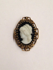 www.hersandhistreasures.com/products/Left-Facing-Cameo-Brooch-Pin-On-Black-Background