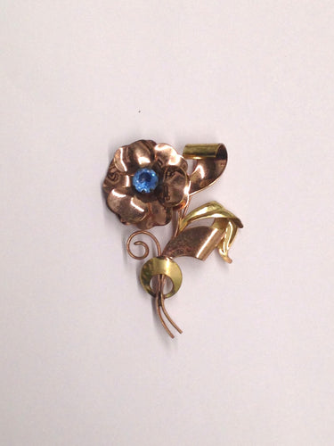 www.hersandhistreasures.com/products/1950's-Copper-and-Brass-Flower-Brooch-Pin
