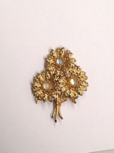 www.hersandhistreasures.com/products/Gold-Toned-Flower-Bouquet-Brooch-Pin