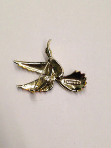 Gerry's Enamel Bird Brooch Pin