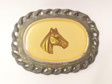 Load image into Gallery viewer, Vintage Horse Head Metal Buckle www.hersandhistreasures.com