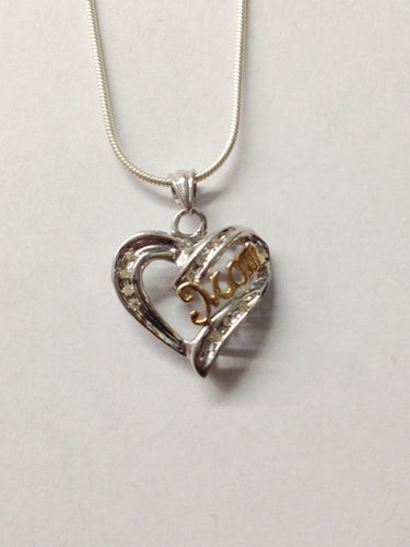 www.hersandhistreasures.com/products/Sterling-Silver-Diamond-Heart-Mom-Necklace