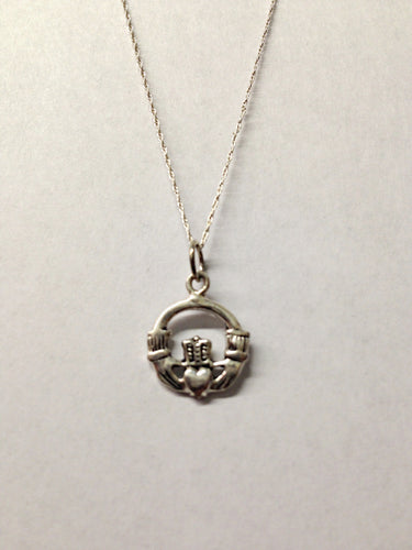 www.hersandhistreasures.com/products/Claddagh-Sterling-Silver-Necklace