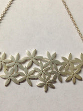 Load image into Gallery viewer, Tashi Signed Floral Sterling Silver Necklace