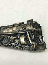 Load image into Gallery viewer, 1978 Bergamot Brass Works Locomotive Train Engine Belt Buckle