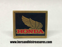 Load image into Gallery viewer, Vintage 1983 NAP Brass Honda Gold Wing Belt Buckle F02