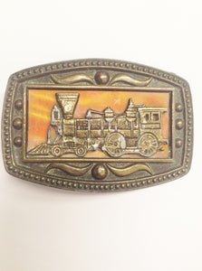 NEW AZTEC INDIAN YELLOW MULTI-COLOR ANTIQUE MEXICAN NATIVE MEXICO  BELT BUCKLE