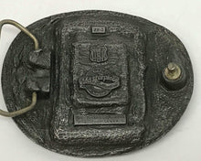 Load image into Gallery viewer, Zippo Lighter Enameled Belt Buckle With Two Eagles From Buckles Of America
