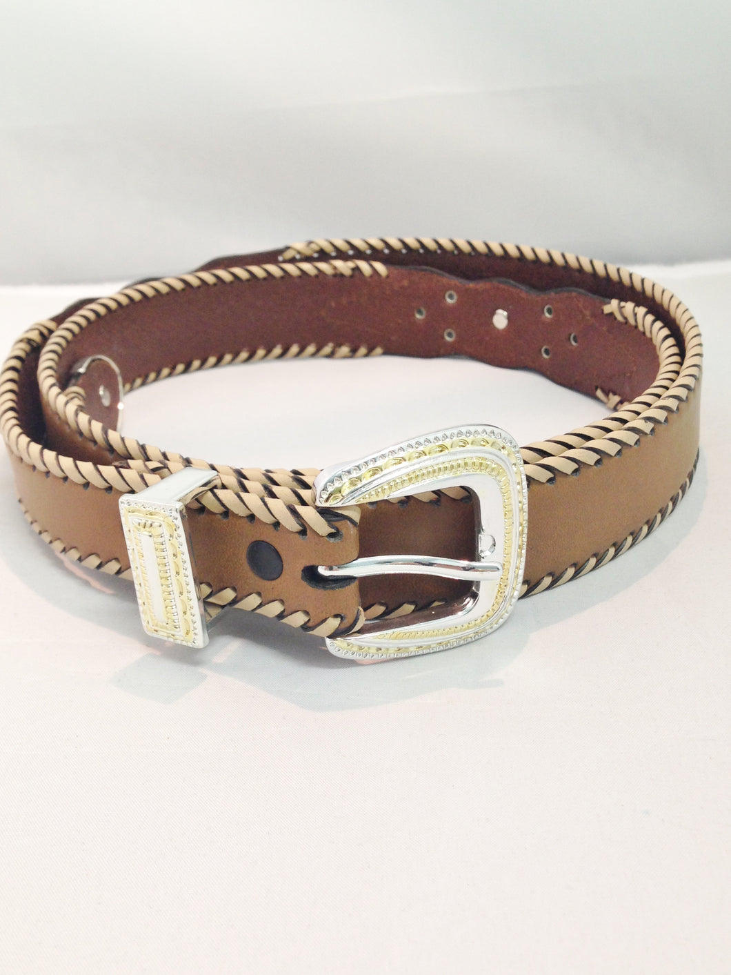 Brown Leather Southwestern Style Belts www.hersandhistreasures.com/collections/belt-buckles