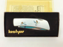 Load image into Gallery viewer, Kershaw 5200 CE Geese Landing Color Photo-Etched Pocket Knife Seki Japan