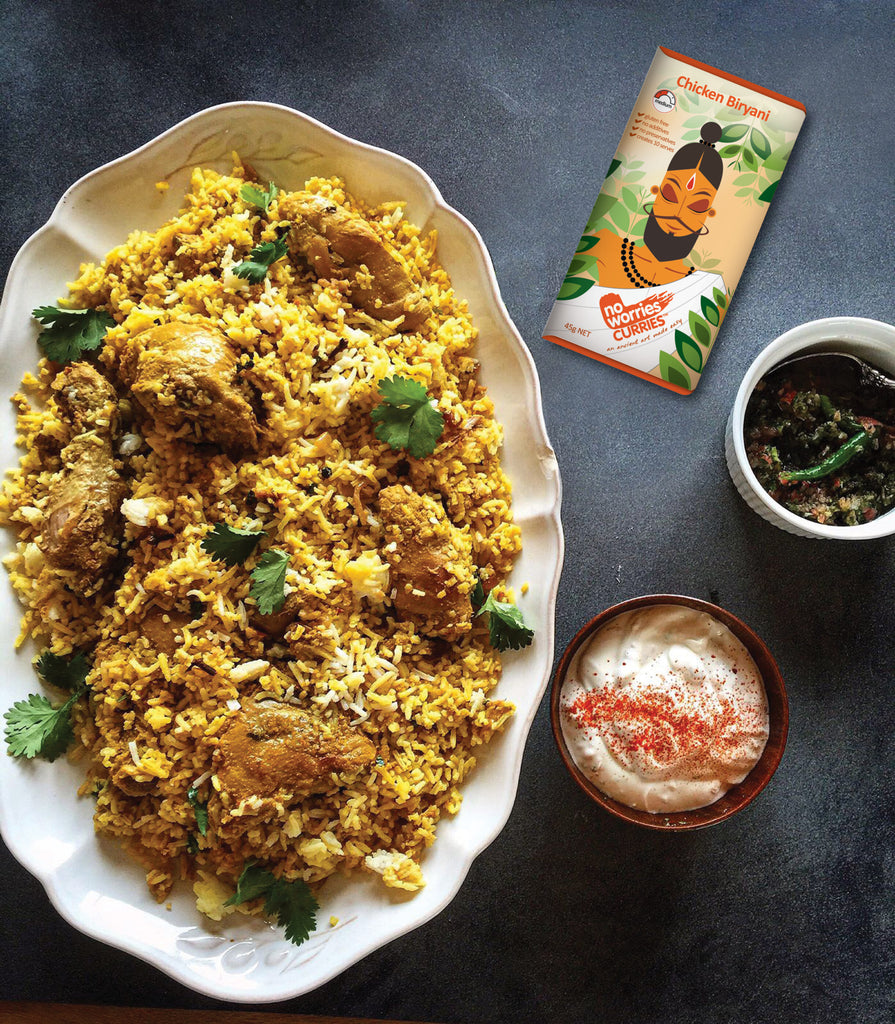 The King of Festivities - Biryani