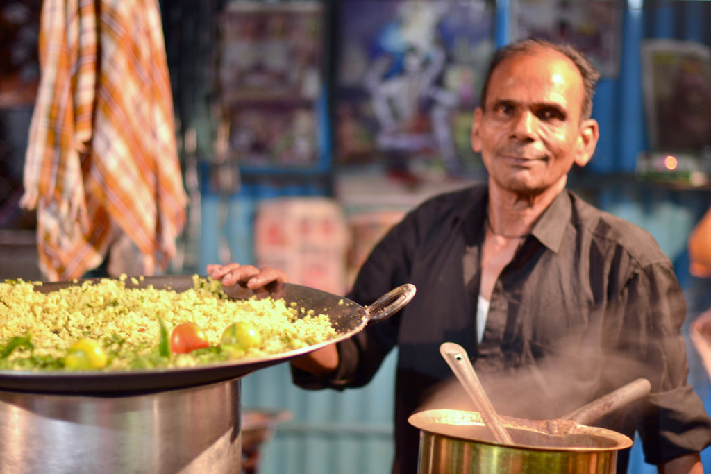 Hitting The Streets with India's Vast Array of Street Food