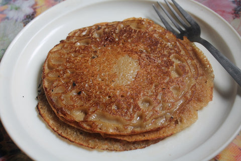 Wholewheat Coconut Pancakes