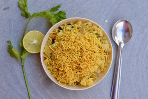 A tasty and wholesome breakfast of Poha