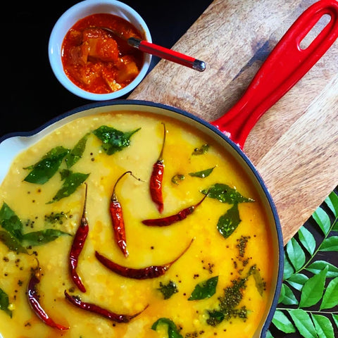South Indian Dhal Tadka