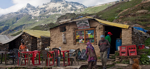 Dhaba in the mountains