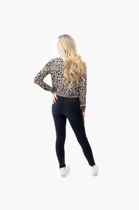 Sammy Leopard Top