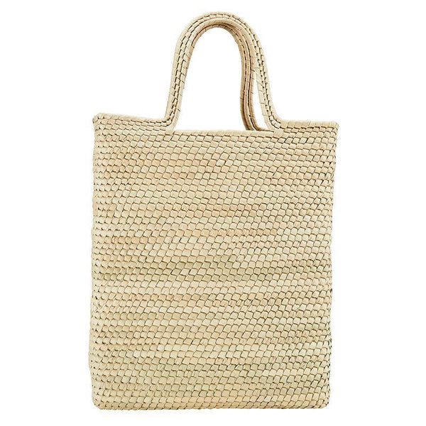 Palms Straw Long Tote