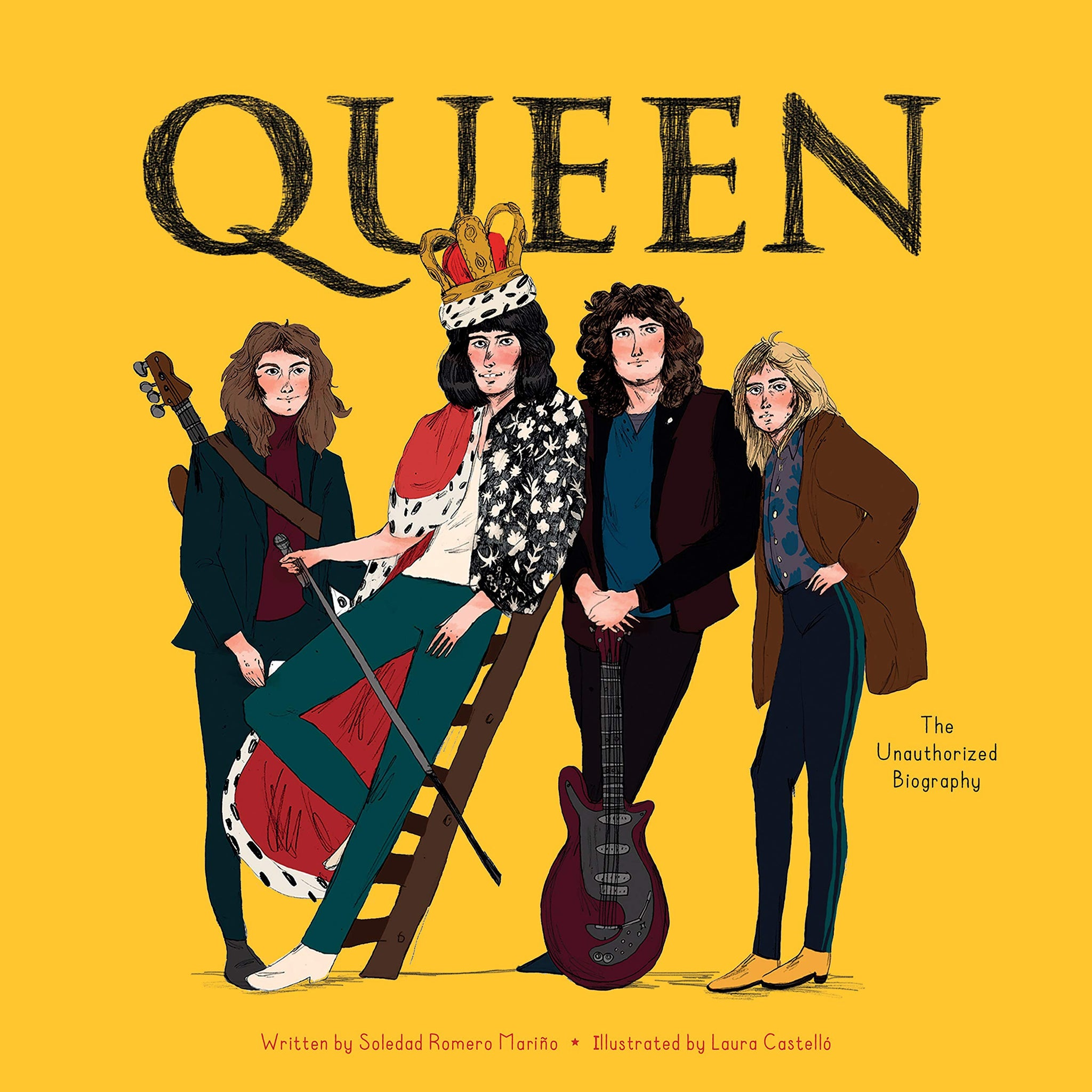 Queen: The Unauthorized Biography Book