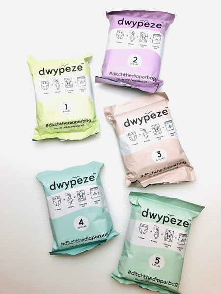 Dwypeze Diaper Changing Kit