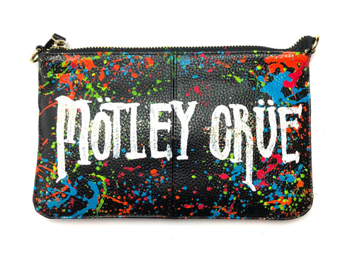 Custom Design Motley Crue Leather Bag