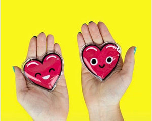 Set of two Heart Hand Warmers