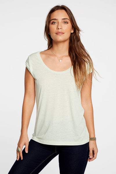 Daiquiri Scoop Neck Tee