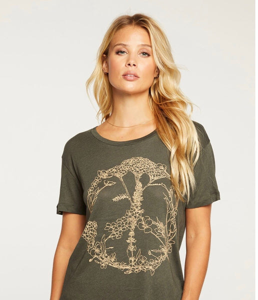 Peace Wreath Graphic Tee