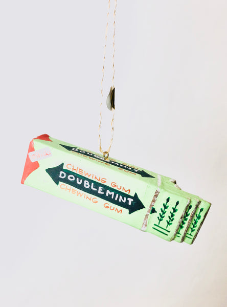 Double Mint Chewing Gum Ornament