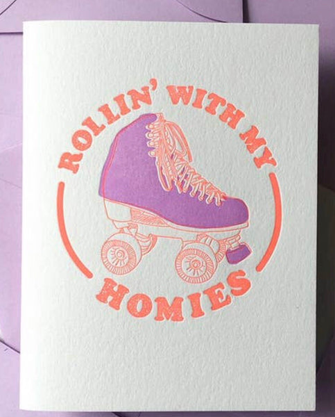 Rollin' With My Homies Card