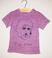 P is for Prince Kid's Tee