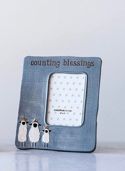 Counting Blessings Picture Frame