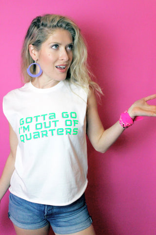 Gotta Go I'm Out Of Quarters Tee - 'sel-küth