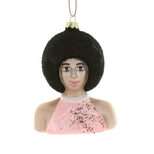 Diana Ross Ornament