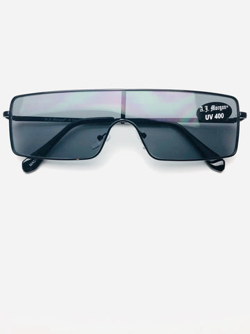 Unisex Rectangular Sunglasses
