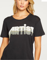 Artist Graphic Crew Neck Tee