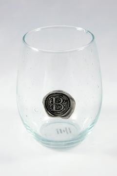 INITIAL STEMLESS GLASS