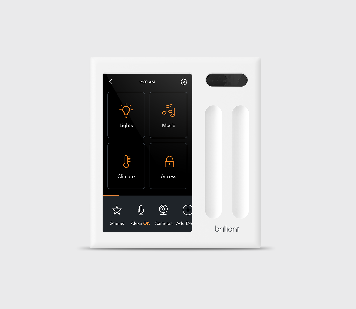 Brilliant All-in-One 2 Switch Smart Home Control