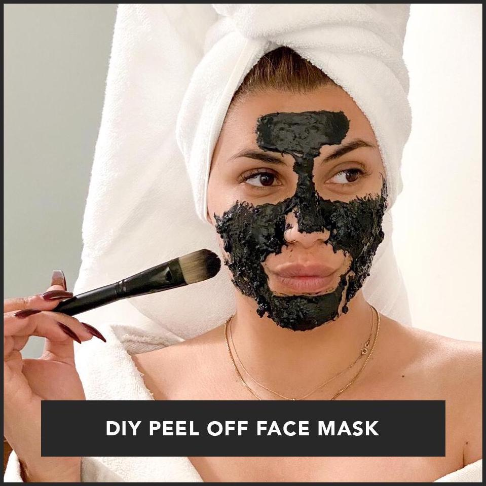 DIY - The ultimate peel off face mask!
