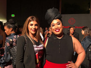 LYDA BEAUTY attends SHISEIDO make-up launch party in Los Angeles, CA