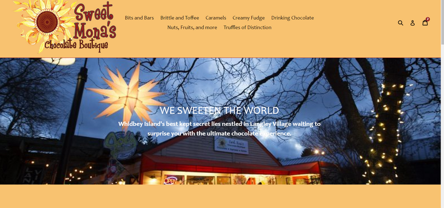 Sweet Mona's Chocolates launches new website!