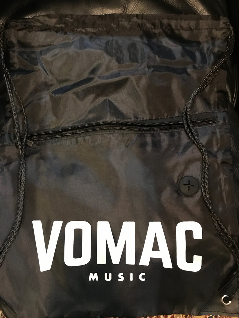 Myles Parrish / Vomac Music 2 Sided Drawstring Back Pack