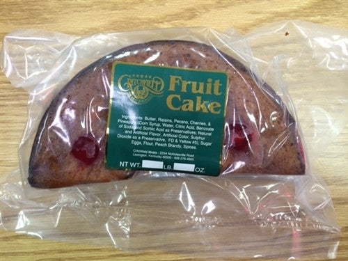 Half Fruit Cake (3 lbs) - Pick Up