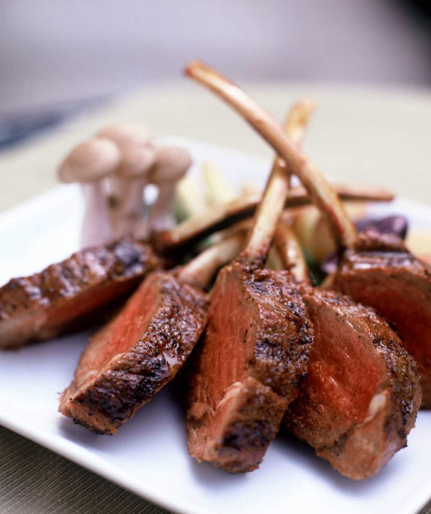 Critchfield's Rack of Lamb