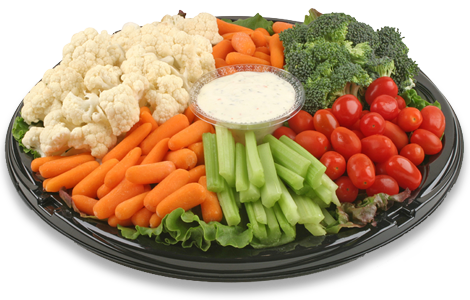 Vegetable Tray - Pick Up