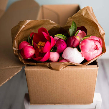 The Peony Bouquet Box
