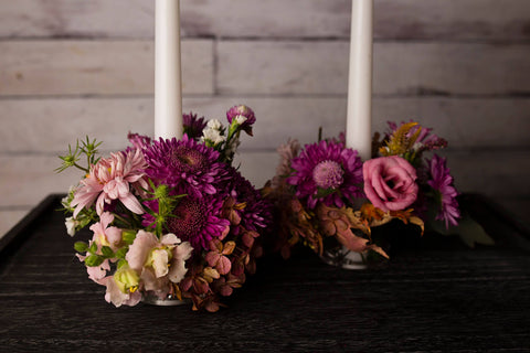 Candle Ring Vases